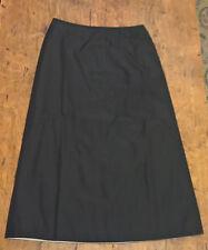Schwarzer Rock, in A-Linie, Gr. 38 von Mexx, kaum getragen, neuwertig