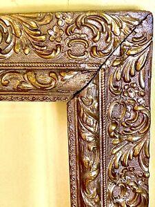 antique gold ornate frame