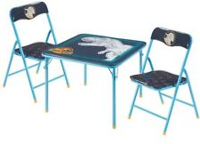 Jurassic World Kids and Toddlers 3 Piece Table and Chairs Set Chirldren Desk New