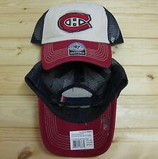 Canadiens Montreal Hockey Mesh Snapback original Hat Cap