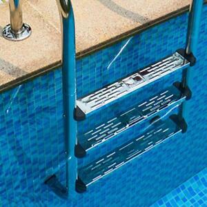 Stainless Steel Swimming Pool Ladder Step Pedal for Non-slip Ground Ladders New