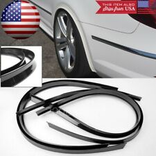 "2 Pairs 47"" Black Arch Wide Body Fender Flares Extension Lip Guar For VW Porsche"