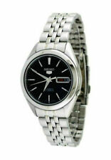 Seiko 5 Men's Black Watch - SNKL23