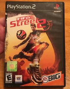 Fifa Street 2 Sony Playstation 2 PS2 CIB COMPLETE!