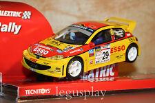 "Slot SCX Scalextric 6278 Peugeot 206 PYR ""Domingo - Garduño""  #29- New"