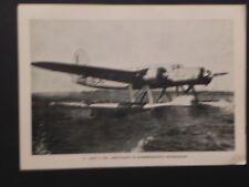 Aviazione Regia Aereonautica militare 1940 WW2 Cant Z 506 idrovolante seaplane