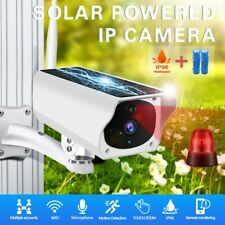 Outdoor Wireless Solar IP Camera Wifi 1080P HD Security Night Vision + Battery