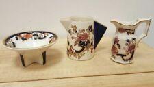 Mandalay Blue Masons Pottery Cups & Saucers