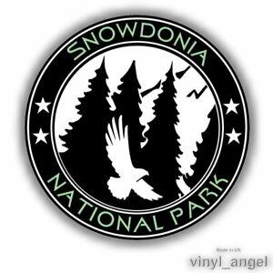 2x SNOWDONIA NATIONAL PARK Car Vinyl Sticker - WATERPROOF #2367