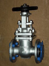 "1"" POWELL #2491 STAINLESS STEEL 150# FLANGED GATE VALVE *Refurbished*"