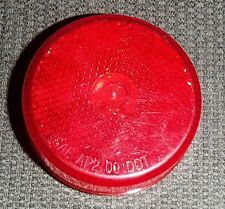 """*NEW* RV OPTRONICS ROUND LIGHT RED LED 2 .5"""" SAE AP2 00 DOT CLEARANCE/SIDE MARK"""