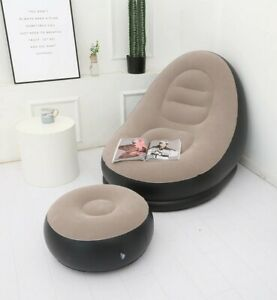 Lazy Inflatable Quality Air Sofa Outdoor Office Home Lunch Break Type With Pump