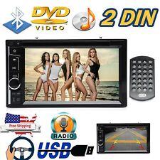 Mirror Link for GPS Car Stereo DVD CD Radio HD Player Bluetooth w/ 6.2 inch