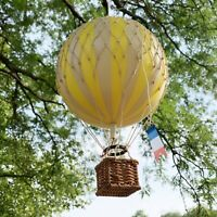 Handmade Hot Air Balloon Model Floating Home Wall Decor