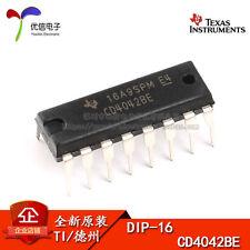 2 x MC14042 CM4042 = CD4042 Latch 4 bits