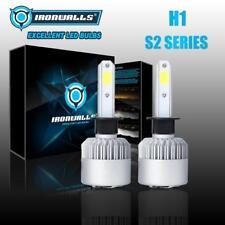 IRONWALLS COB H1 2000W 300000LM LED Headlight Conversion Kit Bulbs 6500K White