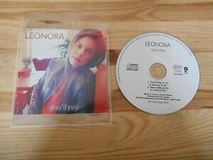 CD Pop Leonora - You'll Pay (4 Song) Promo 9A MUSIC