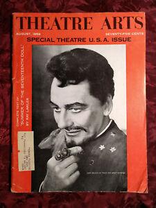 THEATRE ARTS August 1959 John Gielgud Ray Lawler George Pierce Baker E P Conkle