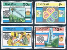 Tanzania 1983 MNH 4v, World Communications Year - B@