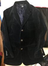 Veste Polo Ralph Laurent en velours côtelé enfant.