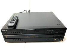 Vintage Sony CDP-CA7ES 5 Disc CD Player/Changer with a REMOTE