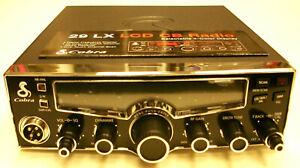 Cobra 29 LX CB Radio, Mega Mods, Mic Circuit Upgrade, Pro Tuned ('Scope, etc)