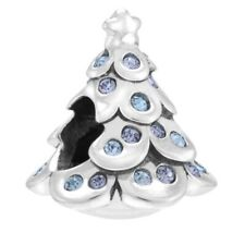New and Genuine Disney Chamilia Frozen Spruce Christmas Tree Silver Charm