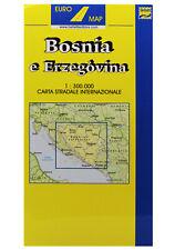 BOSNIA E ERZEGOVINA CARTINA STRADALE [1:300.000] [CARTA/MAPPA] BELLETTI