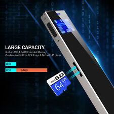 Digital Diktiergerät Aufnahmegerät Audio Voice Recorder USB Stick Speicher 8GB