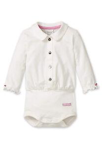 SCHIESSER Baby Body Blusenkragen Gr 62-104 Bodies Langarm Taufe 95% Baumwolle