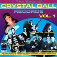 THE DEVOTIONS/THE FANTASTICS/+ - BEST OF CRYSTAL BALL RECORDS: VOL.1 CD POP NEU