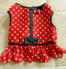 Disney Tails Minnie Mouse Harness Dress for Dogs Size Xl