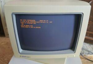 Rare Vintage ATARI PCM124 Monitor for ATARI PC3 computer.  works!
