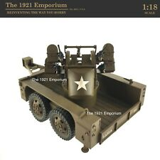1:18 21st Century Toys Ultimate Soldier US Army M17 2 Ton Trailer w/ Quad 50Cal.