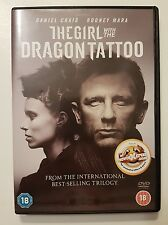 The Girl With The Dragon Tattoo - Region 2 - Very Good Condition - DVD - Tested