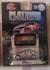 # 4/1656  NASCAR Racing Champion Platinum Plated Precious Metals Series Free   D