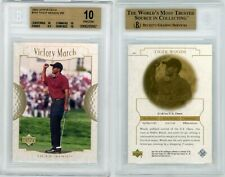 2001 Upper Deck #151 Tiger Woods VM BGS 10 Pristine