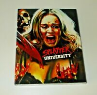 Splatter University Blu ray Region free Vinegar Syndrome With slip New & Sealed