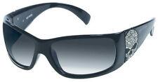 Harley-Davidson Women's Sun Bling Willie G. Skull Black Sunglasses HDS8004BLK-3F