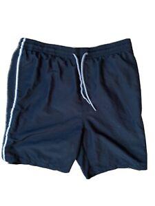 Old Navy Mens Black Swim Trunks Swimsuit Size XL Tall