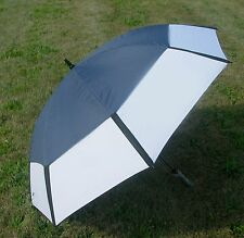 "62"" Navy/White Golf Umbrella Vented NEW"