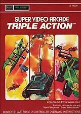 Triple Action Sears (Intellivision, 1981) with Box