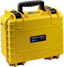 B&W Case Type 3000 SI gelb mit Schaumstoffeinsatz Outdoor Fotokoffer von B&W I