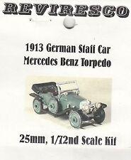 Mercedes Benz Torpedo - German Staff Car 1913 - First World War - Tin kit - 1:72