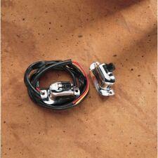 Handlebar switch w/wires chrome - Drag specialties 21-0602-BC114