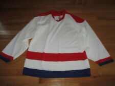Maska Air Knit MONTREAL CANADIENS (Men SMALL) BLANK Hockey Jersey WHITE