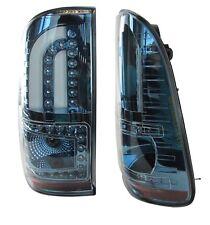 Blue hybrid DEL Rear Lights For Toyota Hilux mk6/mk7/Vigo Tail Lamp Pickup d4d