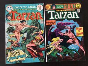 Tarzan Lord of the Jungle #237 #238 (2)Comics Edgar Rice Burroughs