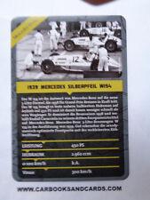 CARD MERCEDES - BENZ GRAND PRIX FORMULA 1 : MERCEDES W154 1939