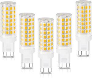 5 X G9 LED Bulb 9W Capsule light 220V Replace halogen bulbs Energy Saving UK